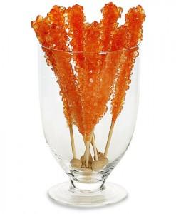 Orange-sicle Rock Candy Stick