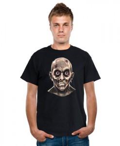 Frantic Zombie Eyeballs Shirt Adult