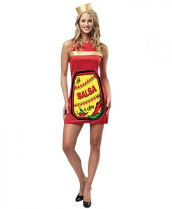 Salsa Dress Womens Costume