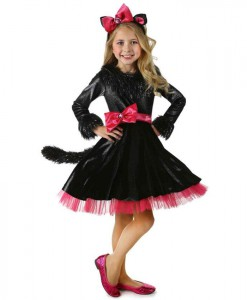 Deluxe Barbie Kitty Costume
