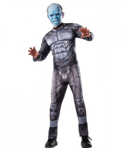 New Official The Amazing Spider-Man 2 Movie Deluxe Electro Child Costume