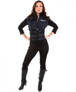 Lady SWAT Adult Costume