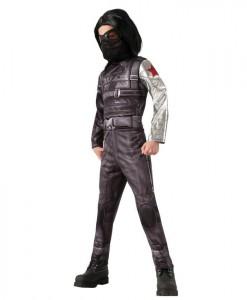 Captain America Winter Soldier - Deluxe Winter Soldier Child Costume