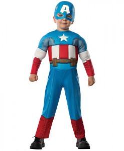 Avengers Assemble Captain America Toddler Costume