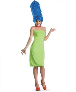 The Simpsons - Marge Deluxe Adult Costume