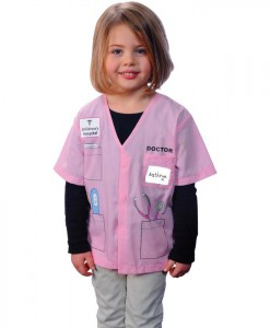 My First Career Gear - Doctor (Pink) Toddler Costume