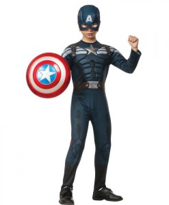 Captain America The Winter Soldier Deluxe Stealth Child Costume