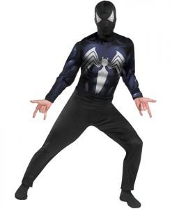 The Amazing Spider-Man Black-Suited Spider-Man Adult Costume