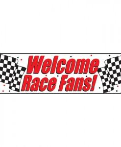 5' Race Fans Giant Banner