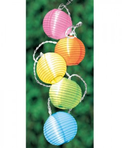 Round Lantern String Lights