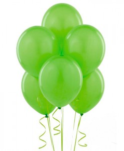 Fresh Lime (Lime Green) Balloons (6 count)