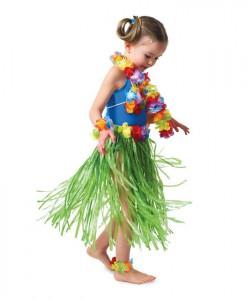 Hula Child Skirt Set