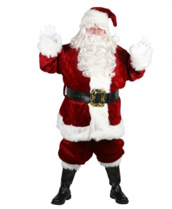 Majestic Santa Suit Plus Size Costume (Size 58-62)
