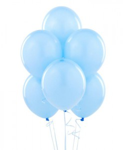 Sky Blue 11 Matte Balloons (6 count)