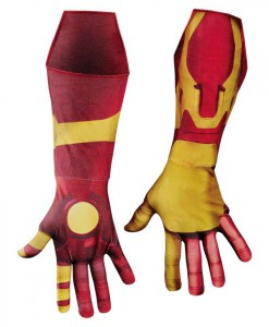 Iron Man 3 Mark 42 Deluxe Adult Gloves