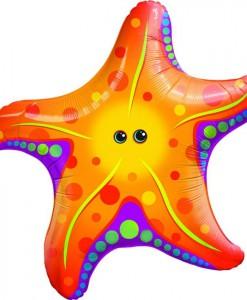 Super Sea Star Jumbo Foil Balloon