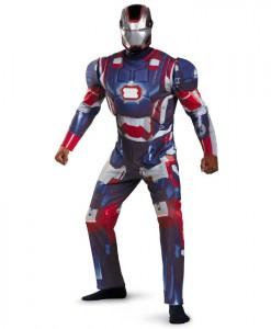 Iron Man 3 Patriot Deluxe Adult Costume
