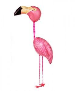 Tropical Flamingo Airwalker 65 Foil Balloon