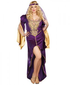 Queen of Thrones Adult Plus Costume