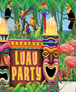 12' All in One Luau Decorating Set