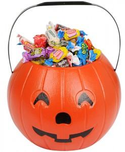 8 Pumpkin Treat Bucket