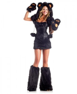 Black Bear Deluxe Adult Costume
