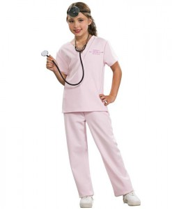 Pink Vet Child Costume