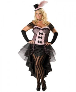 Burlesque Babe Adult Plus Costume