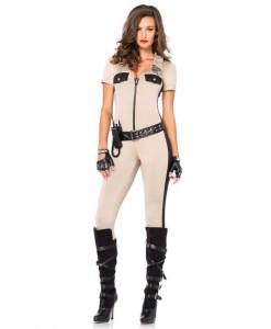Deputy Patdown Sexy Cop Costume