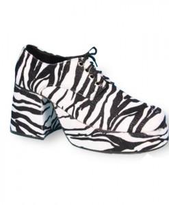Zebra Platform Adult Shoes