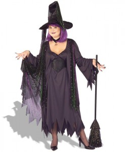 Mystic Witch Adult Plus Costume