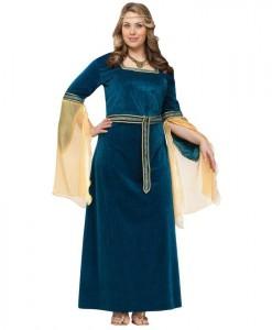 Renaissance Princess Adult Plus Costume