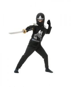 Black Ninja Avengers Series II Child Costume
