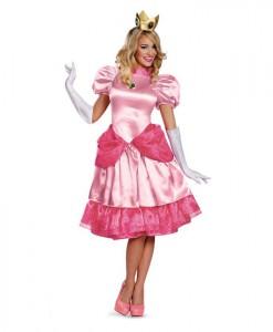 Super Mario Brothers - Deluxe Princess Peach Plus Size Costume