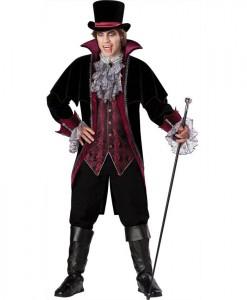 Vampire of Versailles Elite Adult Costume