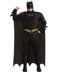 Batman The Dark Knight Rises Muscle Chest Deluxe Adult Plus Costume