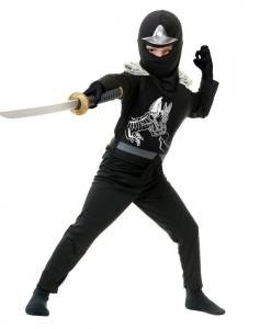 Black Ninja Avengers Series II Toddler Costume