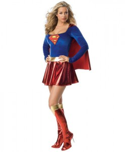 Supergirl Deluxe Adult Costume