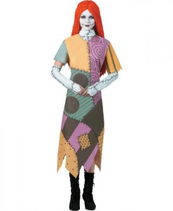 The Nightmare Before Christmas Sally Teen Costume