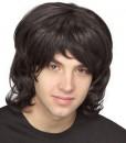 70's Shag Wig (Black)