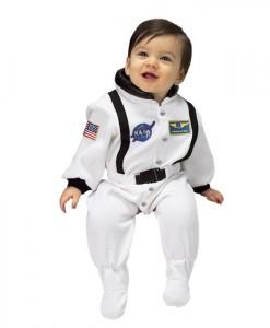 NASA Jr. Astronaut Suit (White) Infant Costume