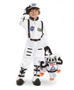 NASA Jr. Astronaut Suit White Toddler/Child Costume