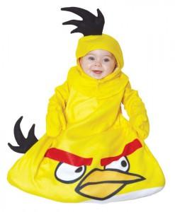 Rovio Angry Birds Yellow Bird Bunting Infant Costume