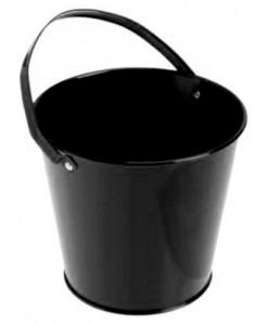 Metal Bucket - Black