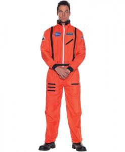Astronaut (Orange) Adult Plus Costume