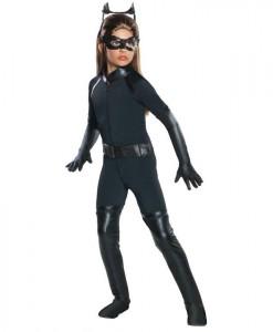 The Dark Knight Rises Deluxe Catwoman Child Costume