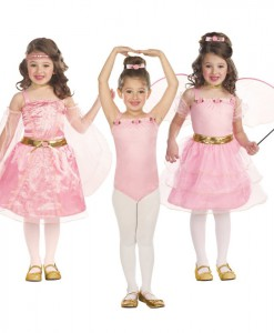 3-in-1 Renaissance Princess / Ballerina / Flower Fairy Child Costume