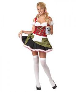 Bavarian Bar Maiden Adult Plus Costume