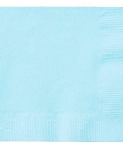 Pastel Blue (Light Blue) Beverage Napkins (50 count)