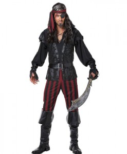 Ruthless Pirate Rogue Adult Costume